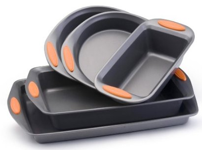 Amazon: Rachael Ray Oven Lovin' Non-Stick 5-Piece Bakeware Set for $24.40 Shipped (Reg. $100)!