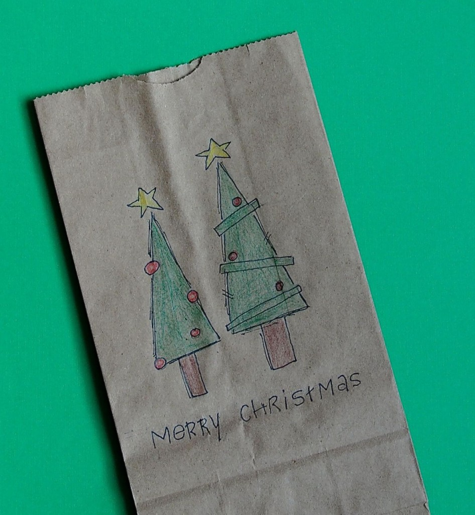 Gift Wrap Christmas Doodles
