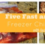 Five Fast and Simple Freezer Chicken Meals with Just Five Ingredients or Less!