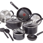 Amazon: T-fal 12-Piece Titanium Nonstick Cookware Set for $59.50 – Today Only