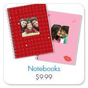 snapfish valentine's notebook