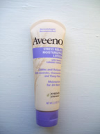 Aveeno stress relief lotion