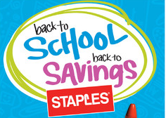 Staples Back to School Deals this Week