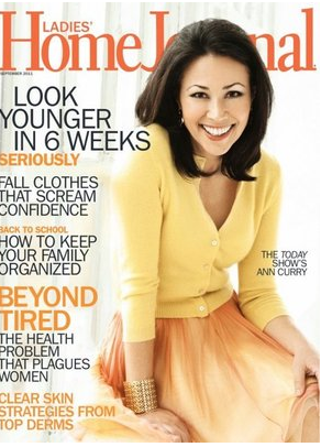 Ladies Home Journal Brunette