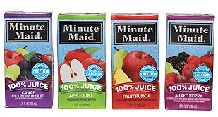 Minute Maid Boxes