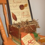 The Dollar Store Diva:  Framed Thanksgiving Hymn and Give Thanks Printable