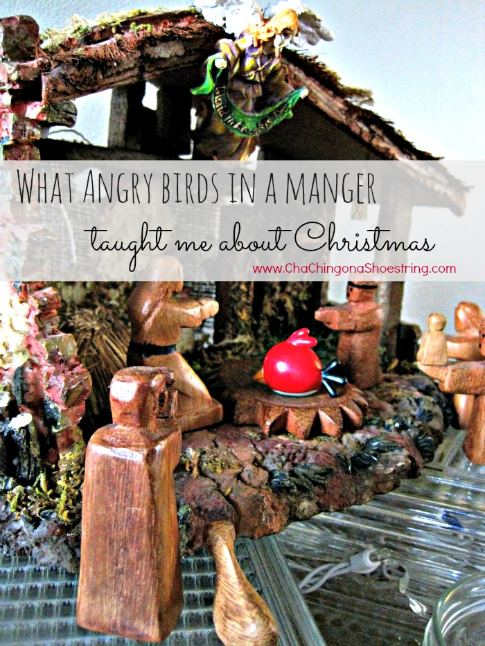 Angry Birds in the Manger