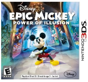 Epic Mickey Power of Two Nintendo 3DS