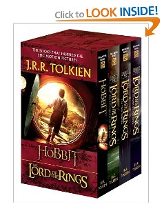 Amazon Lord of the Rings Boxed Set