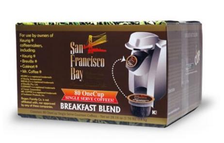 san francisco bay k-cups