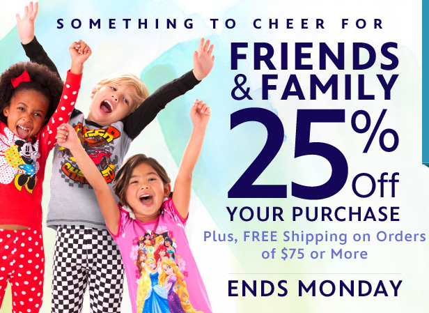 Friends and Family Sale Disney
