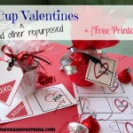 The Dollar Store Diva: Repurposed Mini-Valentines + Free Printables
