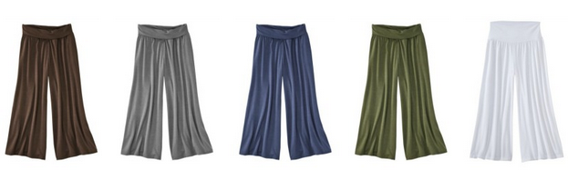 Gaucho Pants COlors