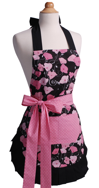 Midnight Bloom Apron