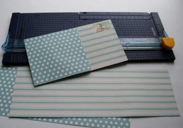 Folded 12x12 cards
