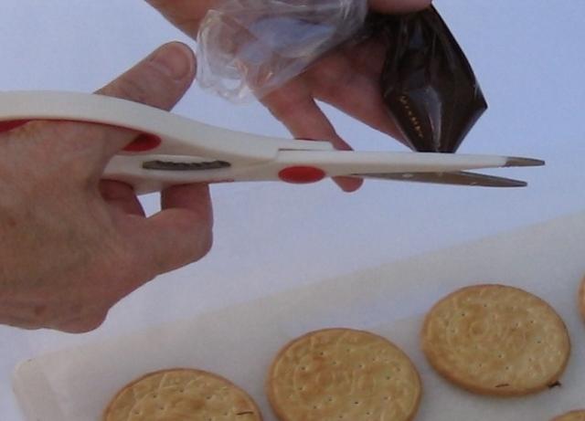 Black Bottom Cookies