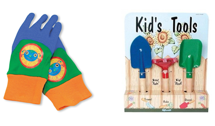 Kids Gardening Tools and Gloves