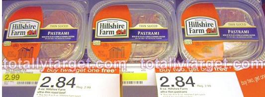 hillshire farms at Target