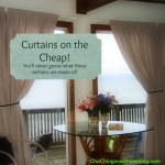 The Dollar Store Diva: Curtains on the Cheap
