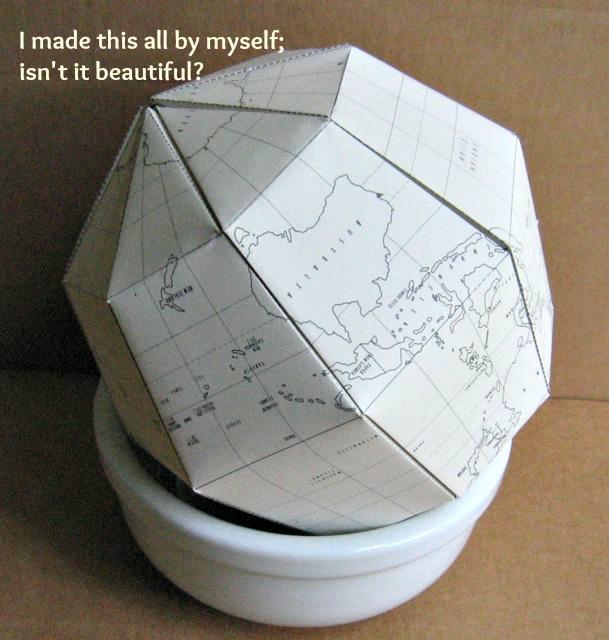 DSD I Made It Globe Card