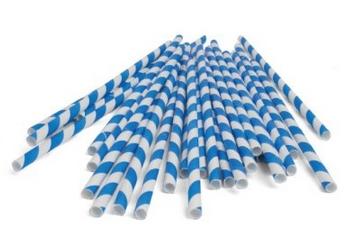 blue-straw