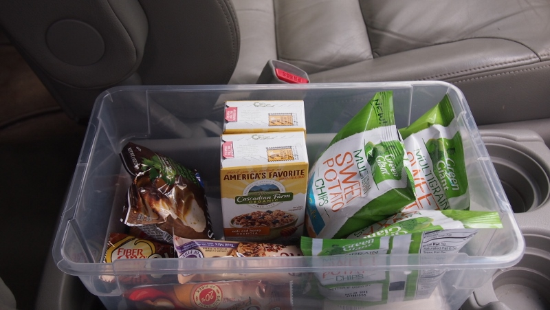 Free car Snacks