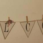 The Dollar Store Diva: Welcome Banner with Free Printables