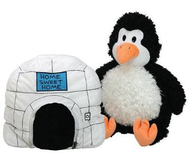 Penguin to Igloo Pilllow