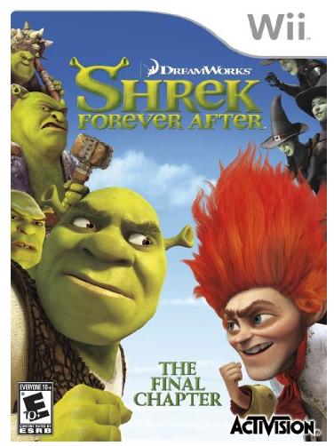 Shrek Forever After Wii Video Gam