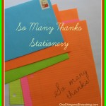 The Dollar Store Diva: So Many Thanks Stationery with Printables