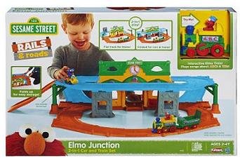 Elmo Junction Train Set