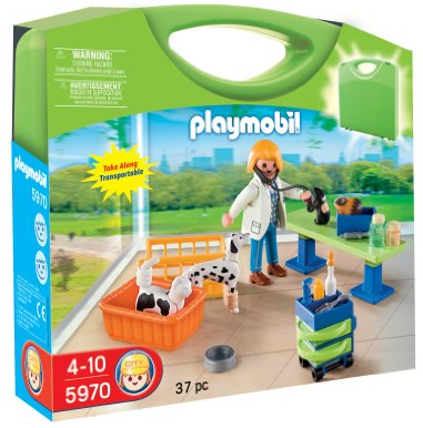Playmobil Carrying Case Vet Clinic