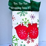 Merry Little Christmas: Too, Too Fun Wrapping Idea #1