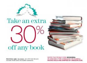 30 coupon code books Amazon