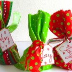Merry Little Christmas: Too, Too Fun Wrapping Idea #10 with Printable Tag