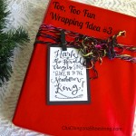 Merry Little Christmas: Too, Too Fun Wrapping Idea #3