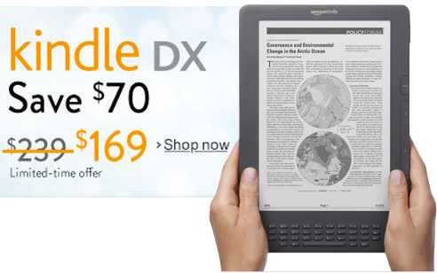 Kindle-DX-Cyber-Monday deal 2013
