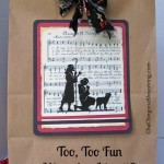 Merry Little Christmas: Too, Too Fun Wrapping Idea #9 with Printable