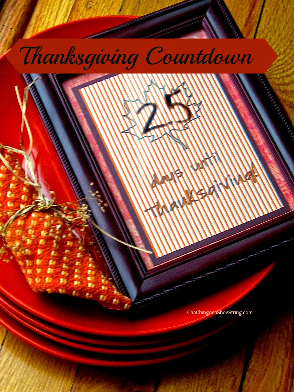 Pic Countdown to Thanksgiving