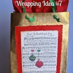 Merry Little Christmas: Too, Too Fun Wrapping Idea #7 with Free Printable