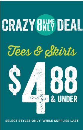 crazy 8 $4.88