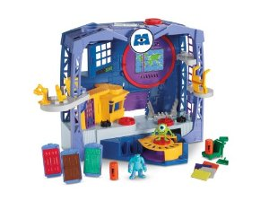 fisher price monsters university scare factory
