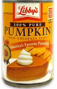 libby canned pumpkin