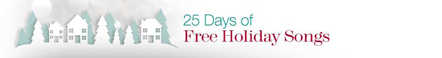 Amazon 25 Days of Free Christmas Music Downloads 2013