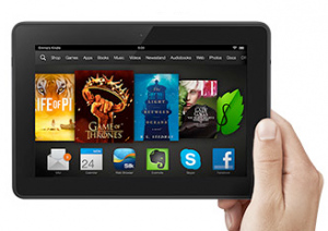 Kindle Fire HDX Coupon Code December 22 - 23, 2013