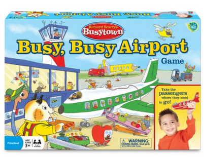 Busy Airport Game
