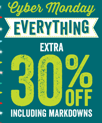 Cyber Monday Crazy 8 Deal 2013