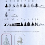 Merry Little Christmas: Create Your Own Tags with a Free Christmas Font