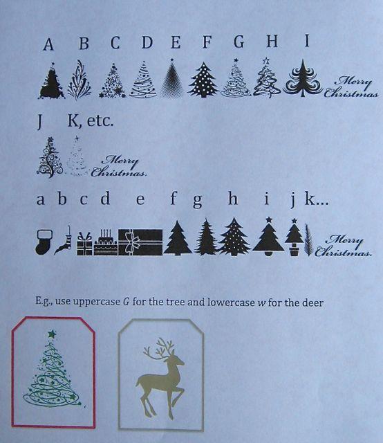 DSD Christmas Alphabet