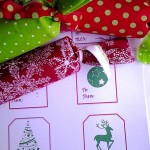 Merry Little Christmas: Too, Too Fun Wrapping Idea #12 Stocking Stuffers with Printable
